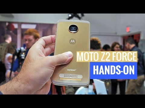 Moto Z2 Force: hands-on with the Force