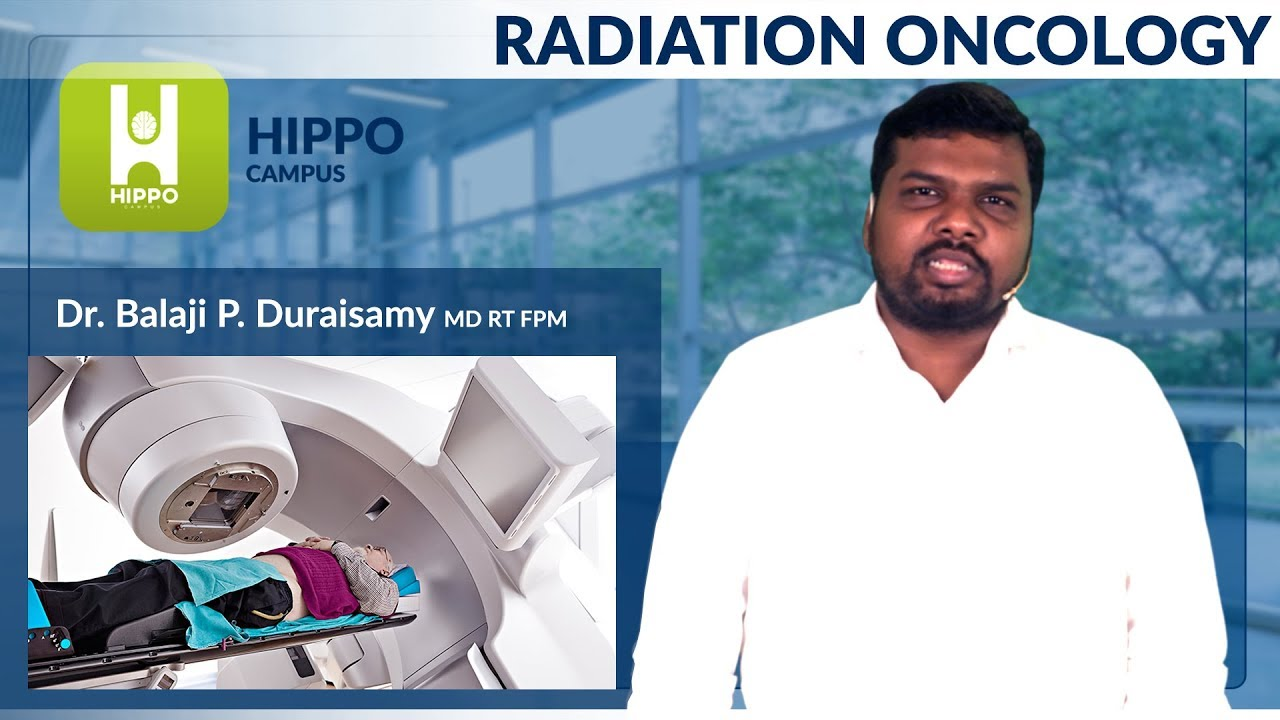 CAREER PROSPECTS OF RADIOTHERAPY - Dr BALAJI DURAISAMY