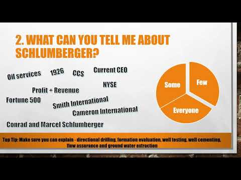 Top 5 Schlumberger Oil Services Interview Questions and Answers