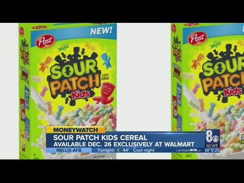 Tim Conway Jr - Sour Patch Kids Is Becoming A Cereal