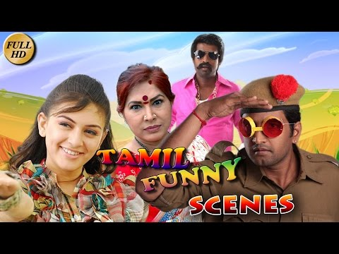 Tamil Funny Scenes | Tamil Non Stop Comedy Scenes | HD 1080 | Tamil Comedy  Movies | Upload 2016