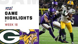 Packers vs. Vikings Week 16 Highlights | NFL 2019