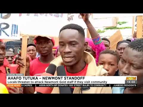 Lcoals thre@tens to attack Newmount Gold staff if they visit community - Adom TV News (21-7-21)