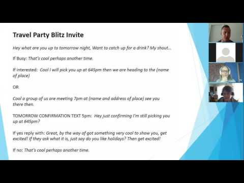 At Home Travel Party Training