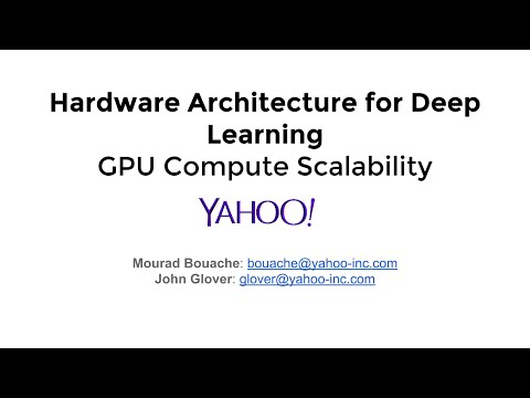 Hardware Architecture for Deep Learning | GPU Compute Scalability