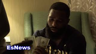 Adrien Broner During Fight Week Spending Money On His Kids EsNews Boxing