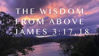 The Wisdom From Above