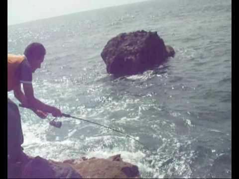Pesca spinning  ligero la Palma 2010 (4).wmv