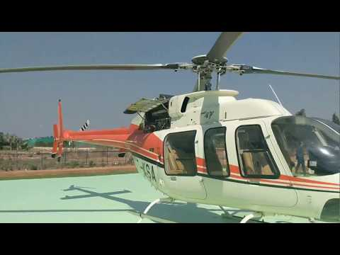 Helitaxii launched in Bangalore - BIAL to Electronic City