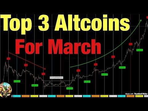 Top 3 Altcoins for March