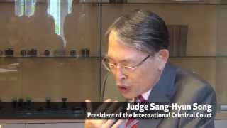 ICC President Judge Sang-Hyun Song on law and impunity - Ljubljana Slovenia