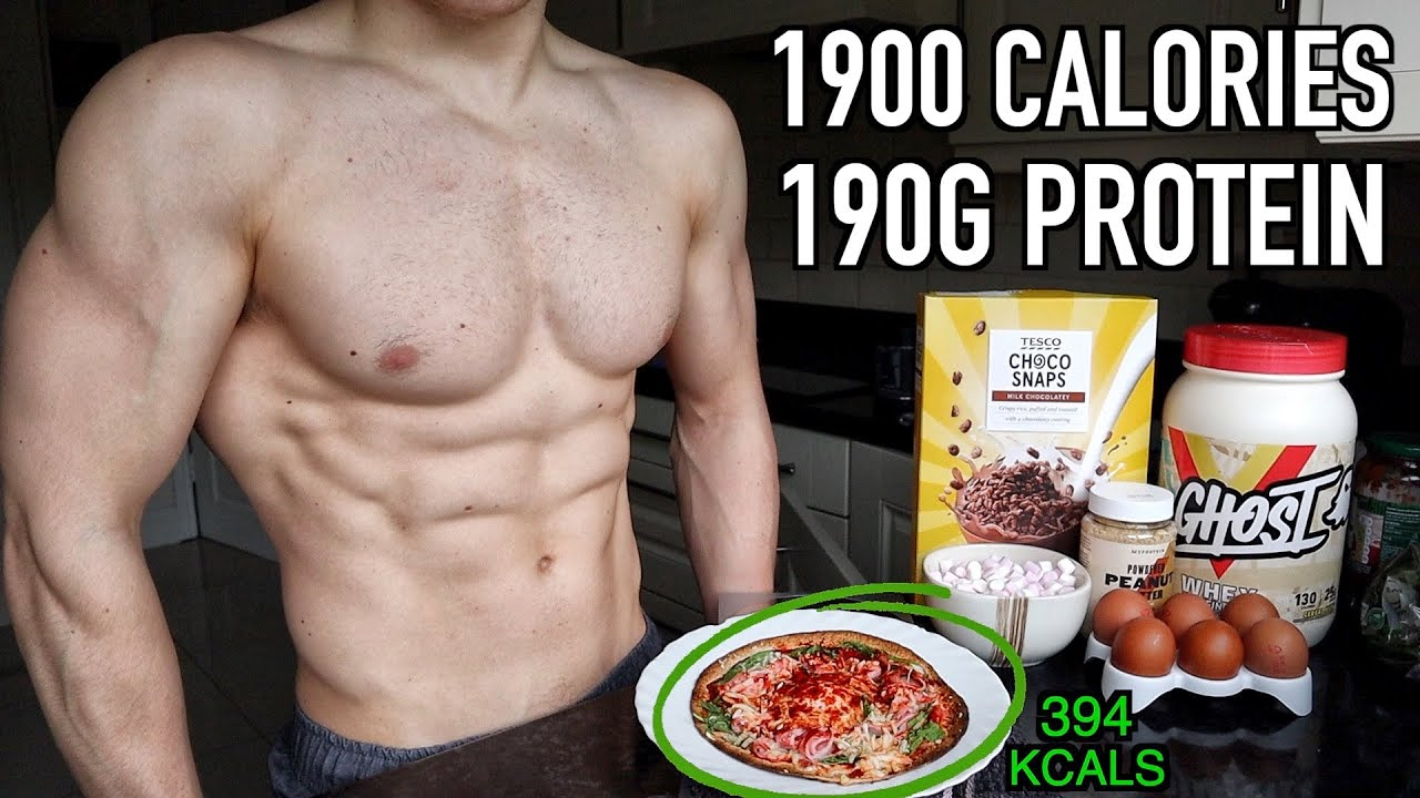Full Day of Eating to Lose Fat FAST! Low Calorie Breakfast Pizza & Protein Brownie