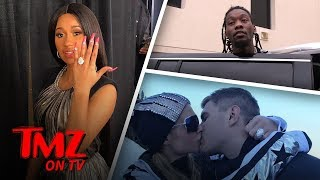 Paris Hilton and Cardi B Are Sporting Similar Engagement Rings! | TMZ TV