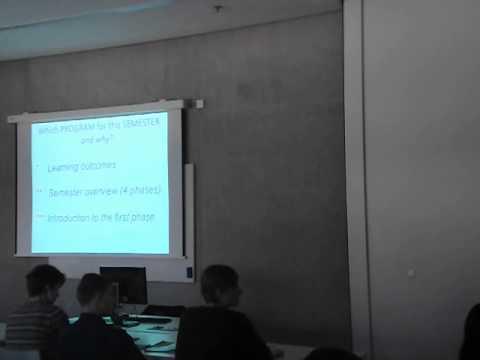 Prof. Pierre von Meiss at Faculty of Architecture, CVUT in Prague Part 1/3