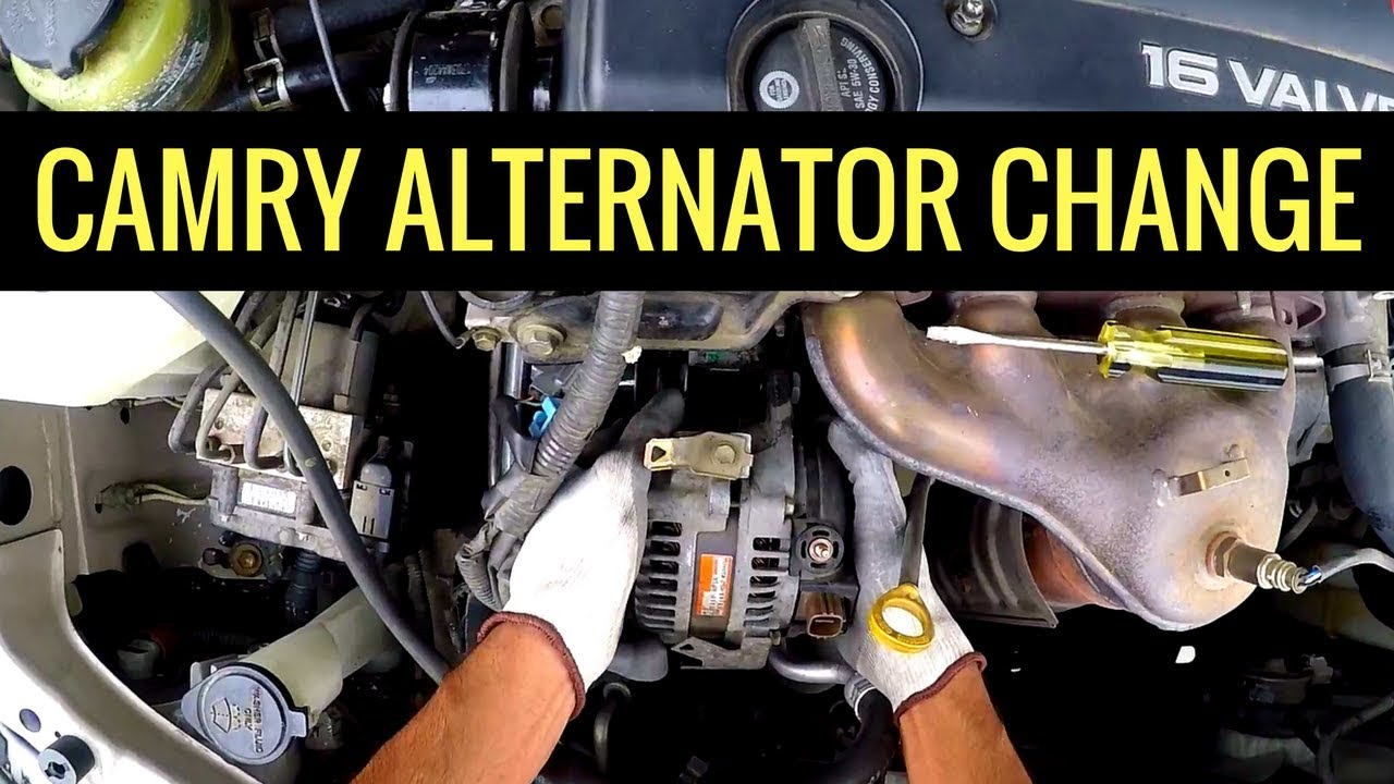 2005 Toyota Camry Alternator Replacement 2azfe Step By Full Walkthrough