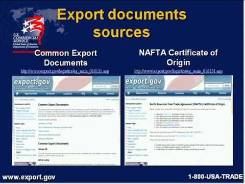 Export Documentation New to Export
