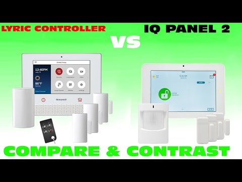 Lyric Controller vs IQ Panel 2: Compare & Contrast Features