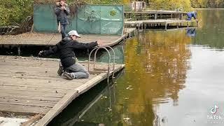 Случай на рыбалке Прикол