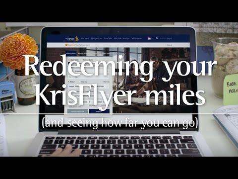KrisFlyer Miles Redemption on singaporeair.com | Singapore Airlines