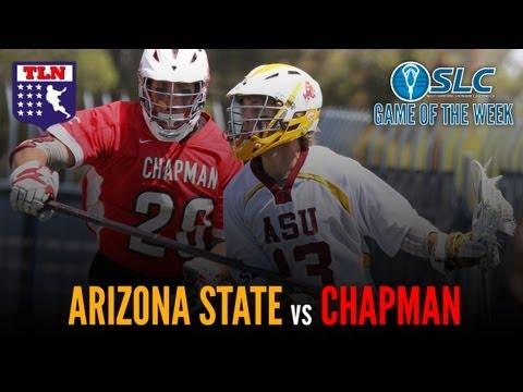 SLC D1 Playoff: Arizona State vs Chapman University