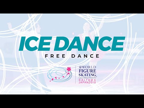 Ice Dance Free Dance | 2019 ISU World Figure Skating Championships Saitama JPN | #WorldFigure