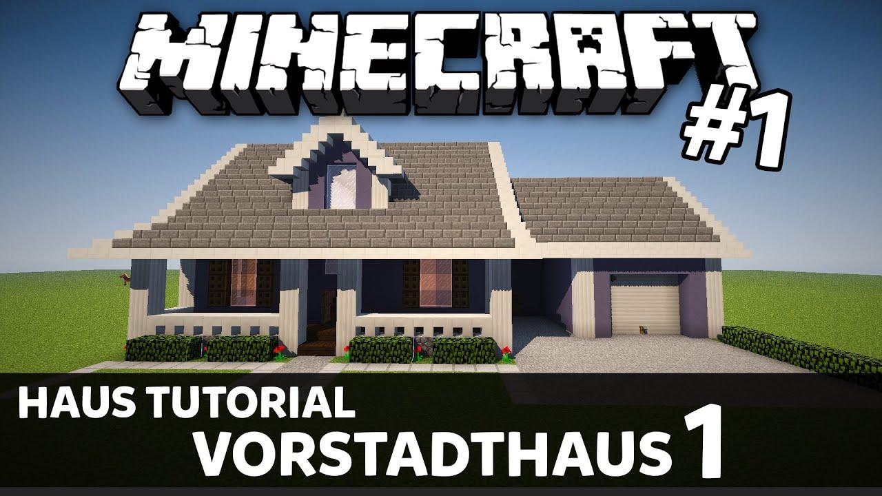 Minecraft haus tutorial vorstadthaus suburban house 1 for Minecraft modernes haus download 1 7 2