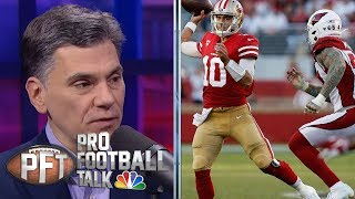 San Francisco 49ers' flaws still apparent despite win over Cards | Pro Football Talk | NBC Sports