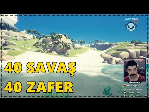 40 SAVAŞA GİRDİK 40 ZAFER ALDIK | Sea of Thieves /w Quanaril