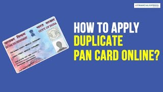 PAN Card Apply Online: How to order PAN Card reprint in just 10 minutes!