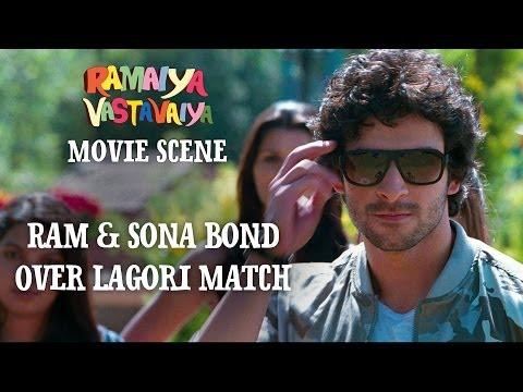 Ram & Sona Bond Over Lagori Match - Ramaiya Vastavaiya Scene - Girish & Shruti