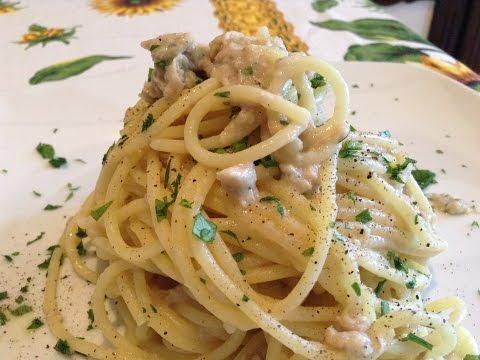 Spaghetti al paté di Tonno