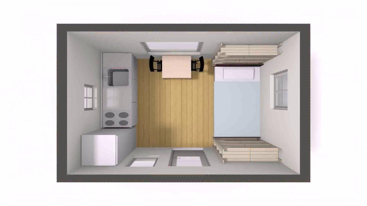 Tiny House Floor Plans 10x12 YouTube – Tiny House Floor Plans 10X12