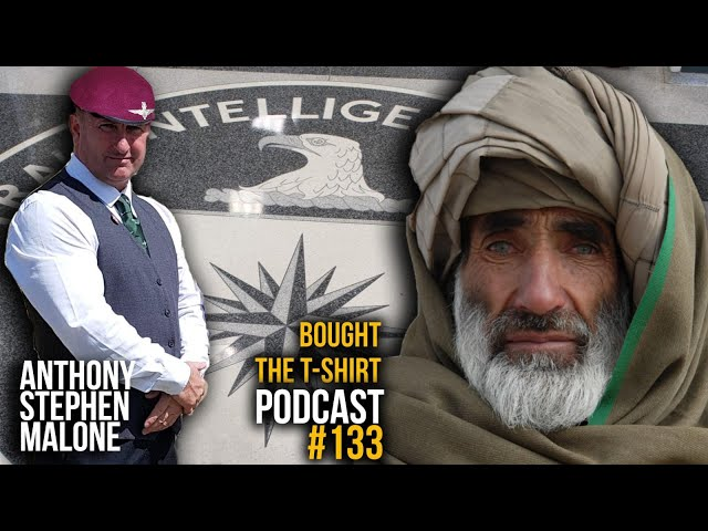 Paras To CIA Asset | Anthony Stephen Malone | Bought The T-Shirt Podcast