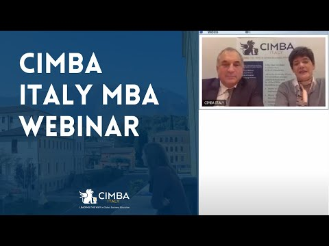 Live in Italy for one year and get an international MBA degree granted by a US university ranked amo