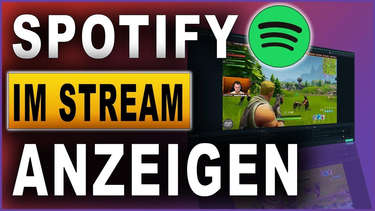 Spotify im Stream anzeigen | Streamlabs OBS Tutorial