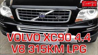 Montaż LPG Volvo XC90 z 4.4 V8 315KM 2009r w Energy Gaz Polska na gaz BRC SQ P&D
