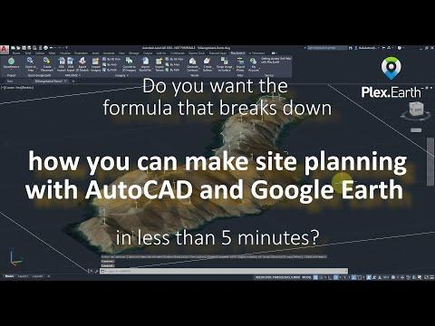 Plex Earth 4 AutoCAD