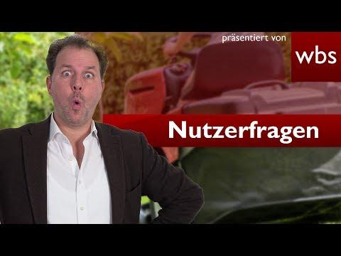 Darf ich (14) mit meinem Rasenmäher auf der Straße fahren? | Nutzerfragen RA Christian Solmecke