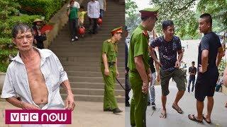 Ngăn người mặc quần cộc và váy ngắn vào Đền Hùng | VTC1