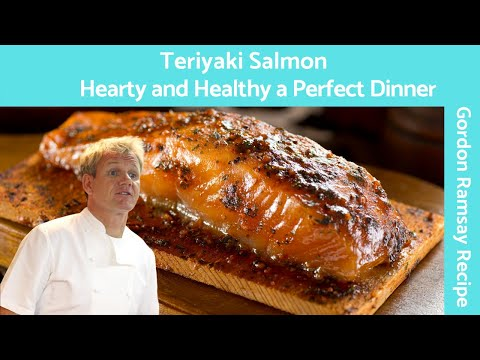 Salmon Teriyaki Glazed (Easy Pan Fried Recipe) Gordon Ramsay