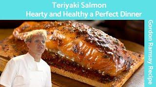 Salmon Teriyaki Glazed (Easy Pan Fried Recipe) - Gordon Ramsay