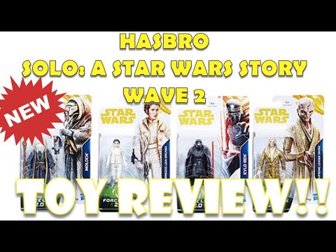 HASBRO SOLO FORCE LINK 2.0 WAVE 2!  TOY REVIEW!!