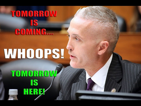 """Trey Gowdy: """"Tomorrow Is Coming"""" (Message to Democrats About Illegal Immigration / DREAMERS)"""