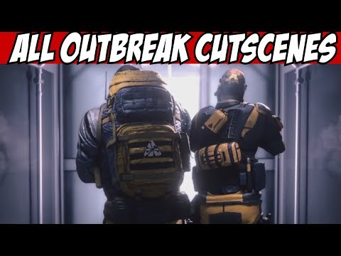 Rainbow Six Siege All Mission Outbreak Current Cutscenes CGI Movie Trailer R6 chimera New Operators