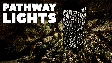 Contemporary Solar Powered LED Pathway Lights by Maggift Review