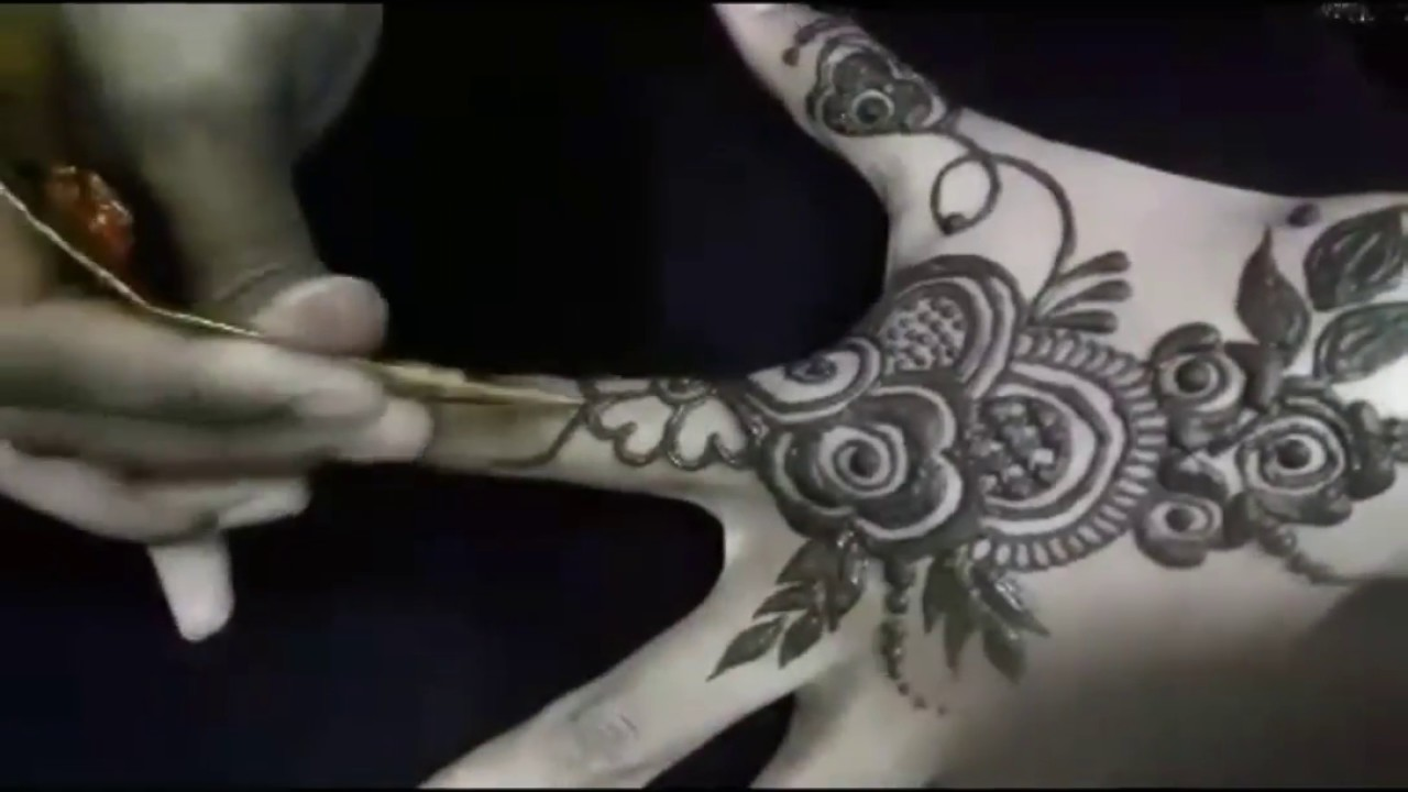 New Khafif Mehndi Design 2018 Youtube