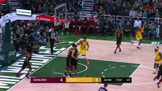 1st Quarter, One Box Video: Milwaukee Bucks vs. Cleveland Cavaliers thumbnail