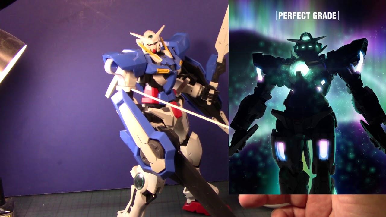 Let's talk about 1/60 Perfect Grade Gundam Exia - YouTube