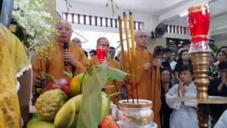 Thượng Tọa Lệ Trang nổi tiếng tụng cúng cơm NSUT Út Bạch Lan cực hay