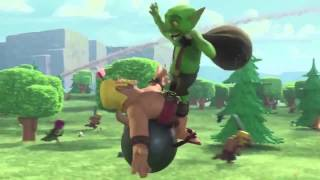 Clash Of Clans - Barbarian, Hog Rider and Larry New Official TV Commercial Trailer